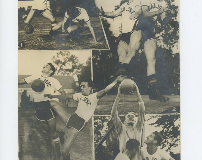 San Jose Soccer: Dakroom Collage Print (711618 O/S)