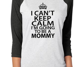 I'm going to be a mommy, pregnancy reveal, pregnancy announcement, mom to be shirt, mom to be gift, mom baby shirt, new mom