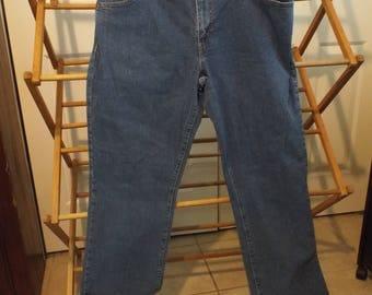 Women's Vintage Levis Denim Jeans Size 16 Long