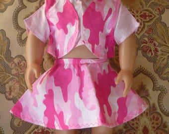 18 inch doll skirts, tees, skater skirts