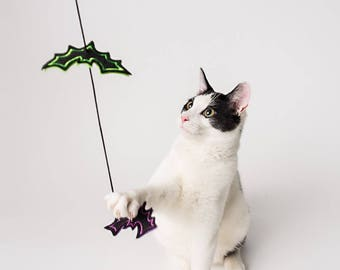 Interactive Bat Wand Cat Toy (1)