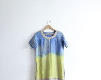 Gorgeous Beaded Indian Tunic Top