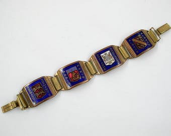 Vintage Art Deco French Bracelet