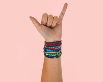 Blue Tone Friendship Bracelet