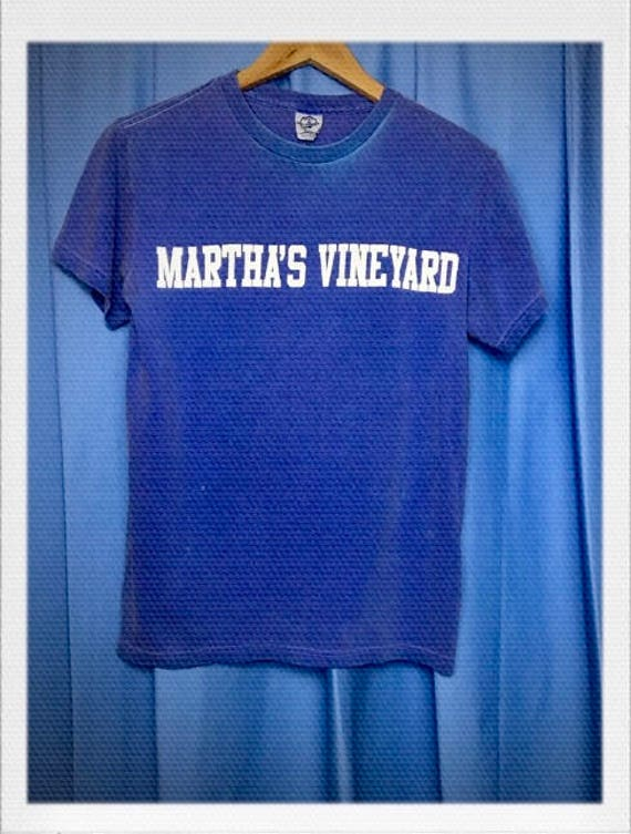 "Vintage Martha's Vineyard Tee Size Small 16"" width 24"" length"