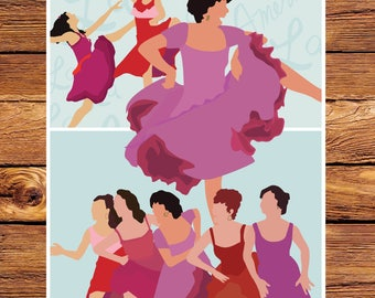 "West Side Story - America 11"" x 14"" Giclee Print"