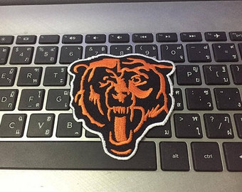 Chicago Bears Logo Patch Logo Patch Iron on Patch