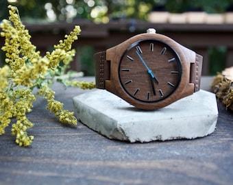 Engraved Wood Watch, Wooden Watch, Wood Watch for Men, Wood Watch, Mens Watch Engraved, Boyfriend Gift, Mens Wrist Watch, Mens Wooden Watch