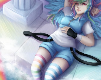 My Little Pony Rainbow Dash Human