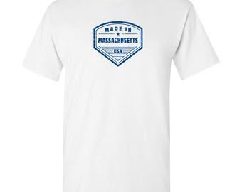 Made in Massachusetts T Shirt - White