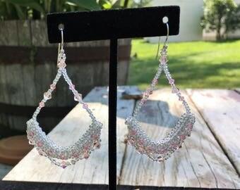 Boho Style Beaded Earrings