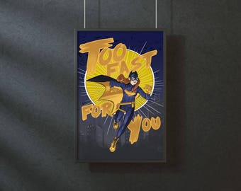 Batgirl - original art print
