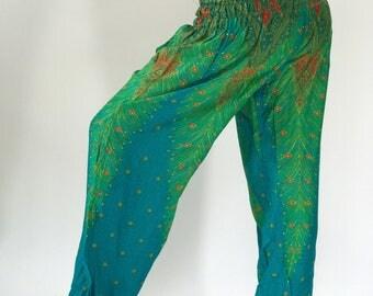 SM0035 Gypsy Pants Rayon Pants,Aladdin Pants Maxi Pants Boho Pants