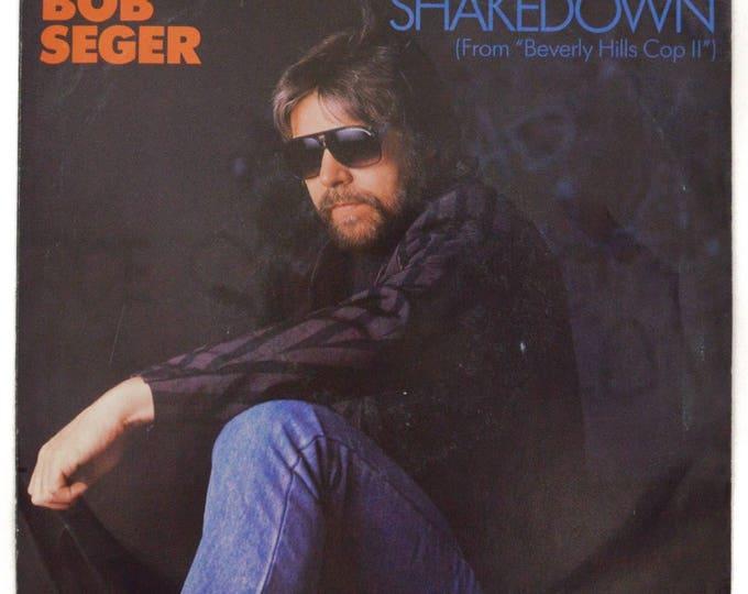 Vintage 80s Bob Seger Shakedown Picture Sleeve 45 RPM Single Record Vinyl