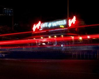 Harry's Cafe De Wheels, Sydney Australia Photo, Fine Art Photography, Woolloomooloo, Potts Point, Sydney Harbor Bridge, Photo Print