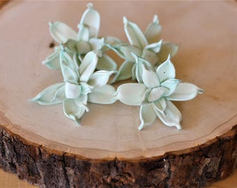 Mint Sola Wood Gardenia ( Set of 12 )
