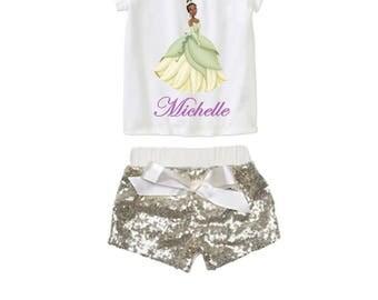Princess Tianna Birthday Disney Outfit