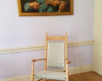 Shaker Style Paddedback Rocking Chair