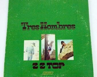 ZZ Top Tres Hombres 1973 Vinyl LP Record Album XPS 631