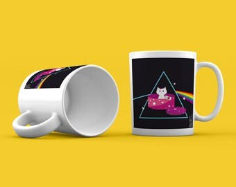 Mug. The Dark Side of the Moon - Pink Floyd.