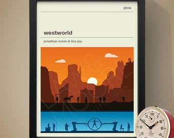 Westworld TV Series Poster, TV Print, Print, Poster