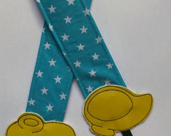 "Camera Strap ""Shoes  Mickey and Minnie"""