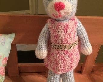 Crocheted Kitty