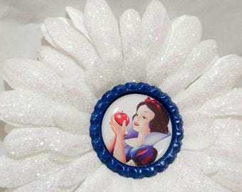 Snow White Inspired Hair Clip
