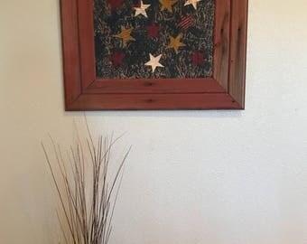 Rustic Americana Wall Hanging