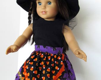 18 Inch Doll Outfits, Girl Doll Clothes, Halloween Party Costume sized to fit 18 inch dolls such as American Girl dolls