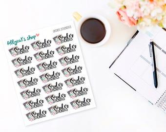 Order Stickers - Planner Stickers