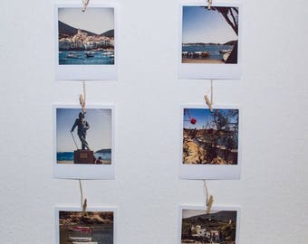 Polaroid Style Pictures of Cadaqués