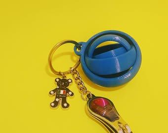 Gyro KeyChain| Spectrum| Fidget Toy| Hand Fidget| Focus Toy| Hand Spinner| Keychain|Spinner| Christmas Ornament| Handbag| Fidget| Gyro