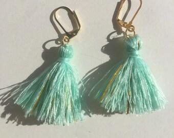 Mermaid Tassel Drop Earring