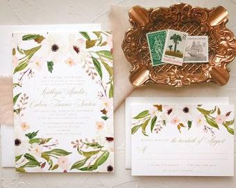 Boho Wedding Invite Set