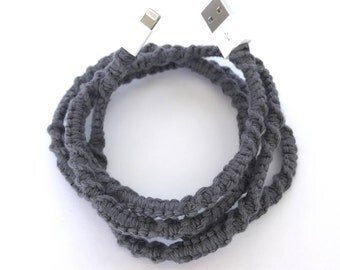 iPhone Lightning Cable,, Android Micro USB Cables Summerfest Collection RIGHT ON! Macrame Wrapped Cable Knit Design Lightning Cable iPod