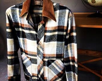 Great Plaid / Nova Check Men's Lightweight Jacket/Shirt
