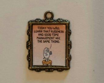Funny cartoon charm!