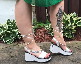 90S PLATFORMS platform shoes 90s sandals