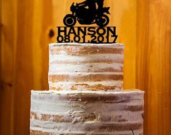 Wedding Cake Topper, Mr. & Mrs. Last Name Cake Topper, Custom Wedding Cake Topper , Acrylic Topper, Cake Topper Party Decor - AT171