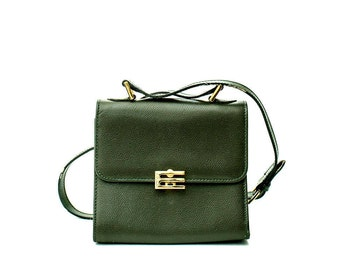 Vintage Etro mini green crossbody bag
