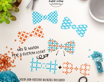 Bow Ties svg, Baby Boy svg, Little Boy svg, Newborn svg, Baby svg Files - Commercial Use SVG & Instant Download