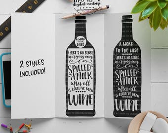 Wine svg, Wine Quote svg, Wine Bottle svg, Drink svg, Wine Cut File, eps, dxf, png Cut Files for Silhouette for Cricut