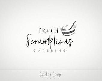 Premade Food Logo, Bakery Logo, Simple logo, Food Blog Logo, Catering Logo, Nutritionist Logo, Cooking Logo, Chef Logo, Cook Logo