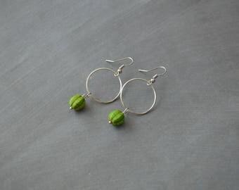 Boho earrings, Dangle earrings, Boho Jewelry, Gift idea, Gift under 15 dollar, Gypsy earrings, Handmade earrings, Bohemian earrings, Earring