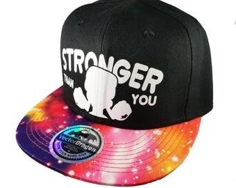 Steven Universe Garnet Stronger Than You Galaxy Crystal Gems Snapback Trucker Cap Hat