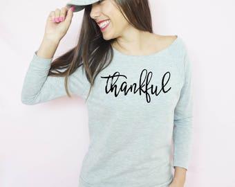 Thankful Shirt, Thanksgiving T Shirt, Funny Thanksgiving Shirt, Thanksgiving Shirt, Thankful Shirt, Holiday Shirt, Fall Shirt, Blessed shirt