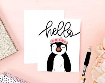 Hello Animal Card
