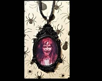 Horror Movie Cameo Necklace