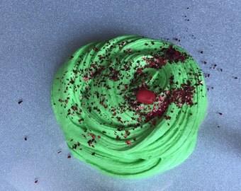 Poison Apple Butter Slime - Scented Slime - Daiso Clay Slime - Glitter Slime